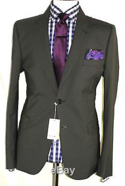 Bnwt Mens Paul Smith The Mainline London Mocca Brown Slim Fit Suit 44r W38