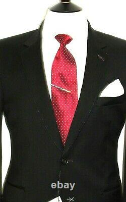 Bnwt Mens Paul Smith The Mainline Tailor-made New Edition Black Suit 38r W32