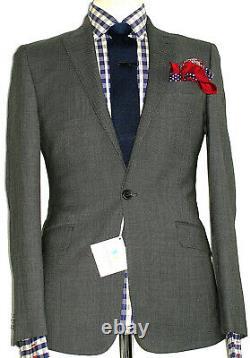 Bnwt Mens Richard James Mayfair Savile Row Birdseye Slim Fit Suit 38r W32 X L32