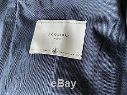 Boglioli Navy Slim-Fit Stretch-Cotton Suit (EU 50)