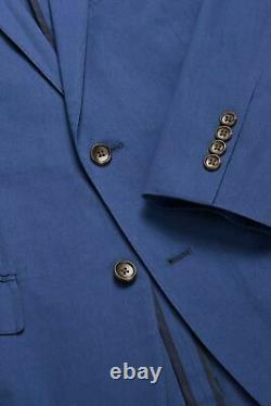 Bonobos Jetsetter Stretch Italian Suit Jacket & Pants BLUE 38R SLIM FIT 33 x 37