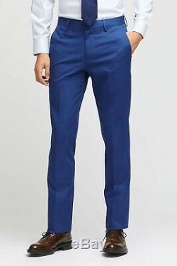 Bonobos Jetsetter Stretch Italian Suit Jacket & Pants NAVY BLUE 38R SLIM FIT