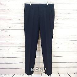 Bonobos Summer Cotton Seersucker Navy Blue Slim Fit Men's Suit 40R Pants 32 x 31