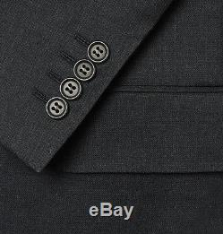 Brand New CANALI Charcoal Slim Fit Wool Suit (US 38 / IT 48) MSRP $1620
