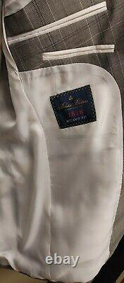 Brooks Brothers brand new MILANO FIT Vitale Barberis select wool Italy size 40R