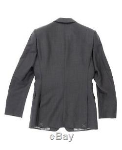 Burberry London 135017 Men's Slim Fit Dark Grey Suit 2 Piece sz. 46L /US 36
