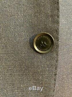 Burberry Mens Blue Slim Fit Birdseye Wool Suit £1295 Retail Jacket Pants