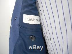 Calvin Klein Men's Blue Extreme Slim Fit Suit $130.00 40S