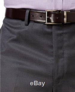 Calvin Klein X Slim Fit Wool 2 Button Jacket Flat Front Pants 2 Piece Men's Suit