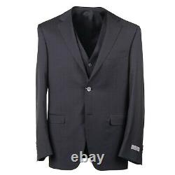 Canali Extra-Slim Three Piece Mid Gray Extrafine Wool Suit 44R (fits 42)