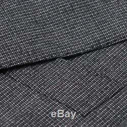 Cesare Attolini Slim-Fit Gray Patterned Wool Suit with Peak Lapels 38R (Eu 48)