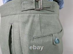 Charles Tyrwhitt Super 120 Half canvas slim fit collection suit 40 R