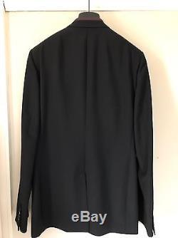 Dior Homme Black Suit Jacket Blazer Slim Fit Rare Size 50 New Tags Japan