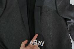 DOLCE & GABBANA Suit Gray Wool Silk MARTINI Slim Fit 3 Piece IT52/US42 RRP $3000