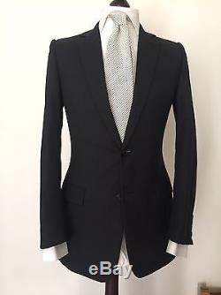 Dior Homme, Hedi Slimane 2 Piece Suit 36R UK 46R IT Slim Fit