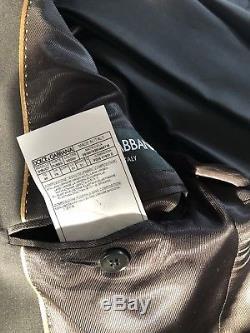 Dolce & Gabbana Black Slimfit Suit 38