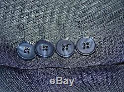 Dolce & Gabbana -Italy Smart Designer Slim Fit Blue/Grey Suit UK 40 EU 50