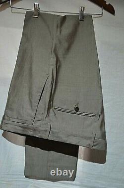 Dolce & Gabbana Smart Designer Slim Fit Brown Sports Suit Uk 38r Eu 48r