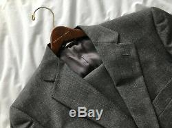 Dolce and Gabbana Slim Fit Wool 2 Button Suit 38R Charcoal Gray