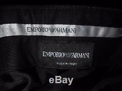 EMPORIO ARMANI'David Line'Luxurious Material Slim fit SUIT Size UK 46REU56Rw40