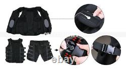 EMS Fitness Trainer Suit Body Slimming MicroCurrent Body Shaper Gym Training Spa