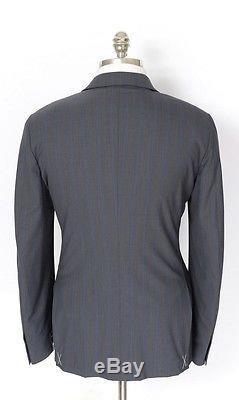 ERMENEGILDO ZEGNA Firen Wool Slim Fit Rolling 3Btn Suit 54 8R 44R Fits 42R NWT