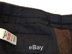 EXCELLENT Harris Tweed By Topman, Brown Wool Suit, Slim Fit Jacket 38R 32/34 W