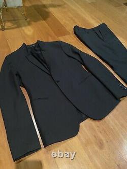 Emporio Armani Charcoal Grey Slim Fit Suit Johnny Line UK 38 Chest 30 Waist