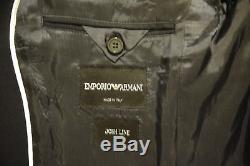 Emporio Armani Slim Fit Size 42r Navy 2 Button Suit