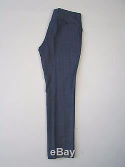 Gieves And Hawkes Grey Checked Slim Fit Suit Ch42 W34 L31