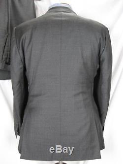 Gently Used SuitSupply Gray Super 110s Slim Fit Suit sz 42R Surgeons Cuffs EUC