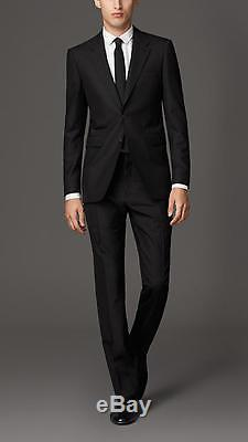 Genuine Black BRAND NEW SLIM FIT Men's BURBERRY Suit with tags