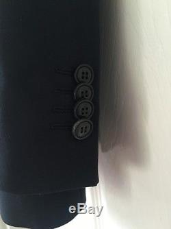 Giorgio Armani Mens Trader Blu NSVB2T Slim Fit Black Suit EU 54 44 RRP£1300 New