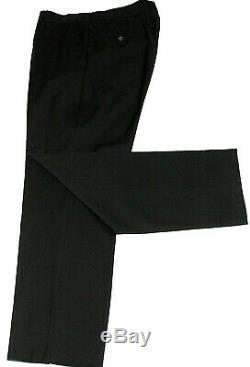 Gorgeous Mens Gucci Tom Ford Italian Plain Black Slim Fit Suit 40l W34 X L33.5