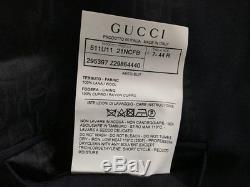 Gucci Men's Slim Fit 2-Btn Blue Wool Suit EU 44R US 34R Luxury Authentic