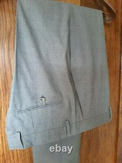 HACKETT Slim-Fit Suit, Grey 40R. NEW WITH TAGS