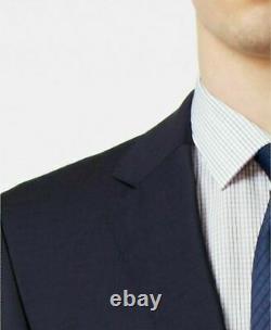HUGO BOSS $590 NEW 10050 Men's Navy Extra Slim-Fit 2-Piece MEN Suit 42R 34R