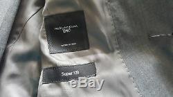 HUGO BOSS GREY HUGE5/GENIUS3 WOOL SLIM FIT SUIT size 48 uk 38R W32 L32 RRP £530