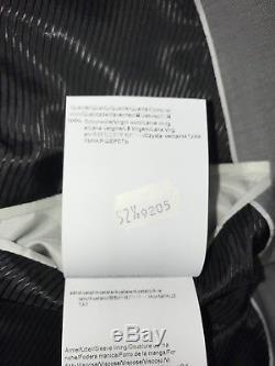 HUGO BOSS Mens SLIM FIT Silver GREY WOOL SUIT 42 Short W34 L33 BRAND NEW