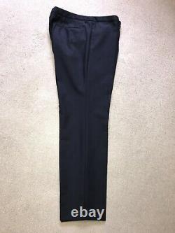 HUGO BOSS -Mens Slim Fit NAVY BLUE WOOL SUIT 42 Reg W36 L30 WORN TWICE