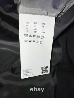 HUGO BOSS Mens Slim Fit Plain BLACK WOOL SUIT 38 Reg W32 L32 GORGEOUS