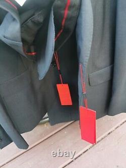 HUGO BOSS NEW $600 Slim Fit Wool Suit Men's Deal Gray 40S
