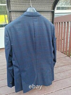 HUGO BOSS NEW $995 Huge6 / Genius4 Slim Fit Wool Suit Men's 40S