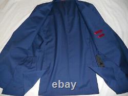 HUGO BOSS Recent Red Label Super100's wool Slim fit Suit Size UK 42LEUR52LW36