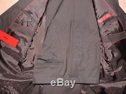 hugo boss slim fit amaro heise dark brown red label suit. Black Bedroom Furniture Sets. Home Design Ideas