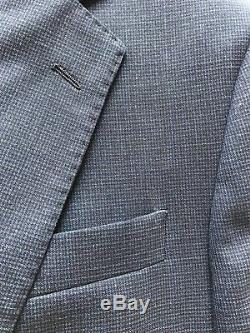 Hackett London Loro Piana Suit 38R slim fit