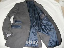 Hackett Mayfair Quality BirdsEye Fabric Slim fit Suit Size UK 42LEUR 52Lw36