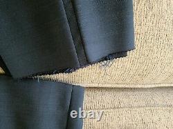 Hugo Boss Arti / Hesten 191E4 Men's Extra Slim Fit Wool Blue One Button Suit 44R