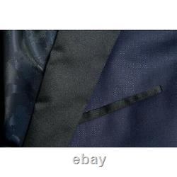 Hugo Boss Extra Slim Fit Navy Tuxedo Suit 38R $955