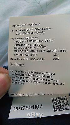 Hugo Boss Huge/Genius Blue Suit. Slim fit. Jacket US 38R only worn once